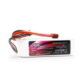 CNHL 2200mAh 3S 11.1V 40C Lipo Battery for Airplane Helicopter Jet Edf With T(Dean) Plug