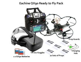 Eachine QX95 RTF package with goggles